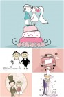 wedding-cartoon-illustrations-vector